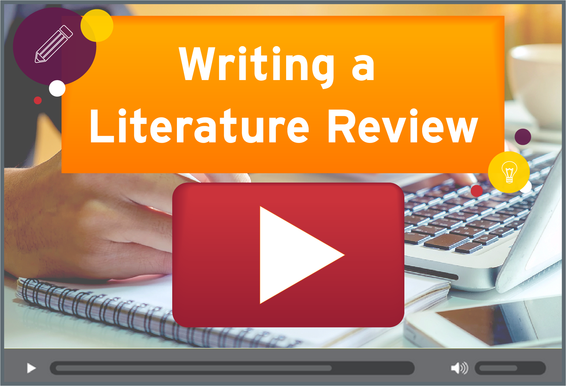Writing a Literature Review Video Tutorial.